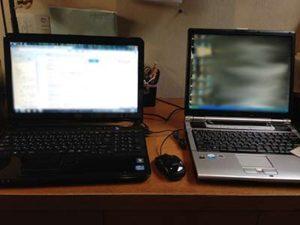 パソコンの乗り換え作業